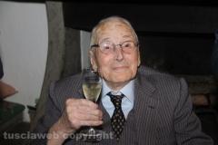 I 106 anni del gelataio Pietro Chiodo