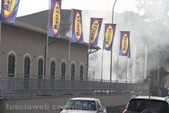 Civita Castellana - L\'incendio al Maury\'s