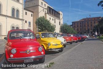 Il 22esimo raduno di Fiat 500
