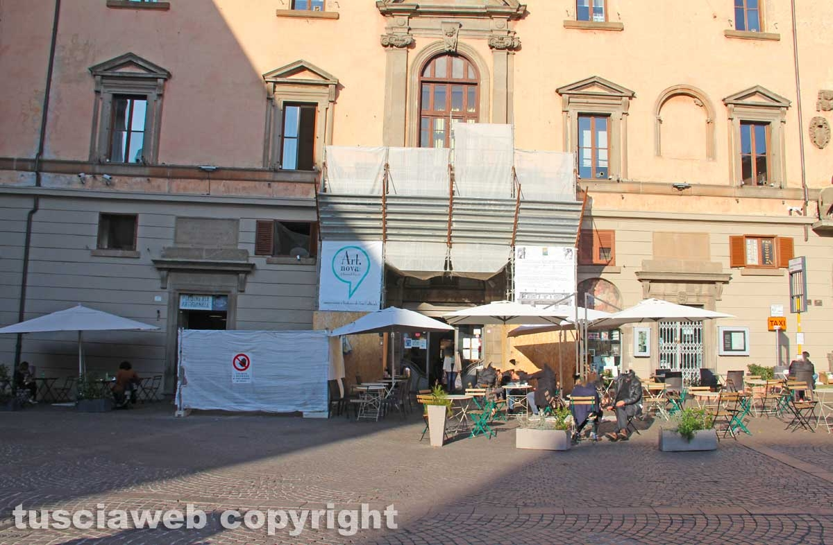 Il balcone di piazza del comune