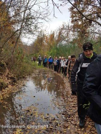 Il cammino sulle vie dell'esilio di Santa Rosa
