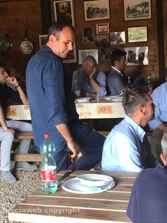 Tuscania - Il centrodestra unito... a pranzo