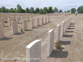 Bolsena - Il cimitero di guerra del Commonwealth