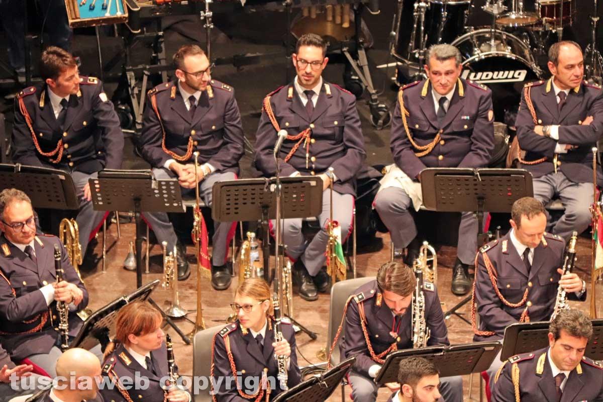 Il concerto della banda della Polizia di stato