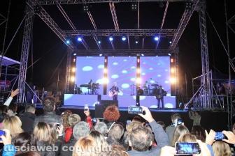 Il concerto di Raf