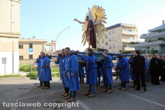 Tarquinia - Il Cristo risorto