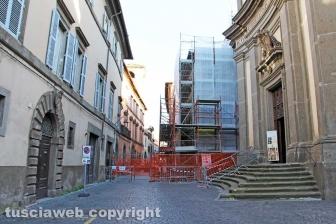 Il crollo del centro storico