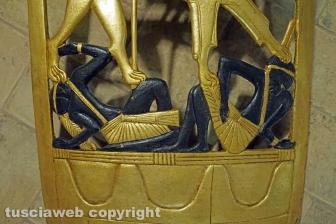 """Il faraone che """"schiacciava"""" i popoli sottomessi"""