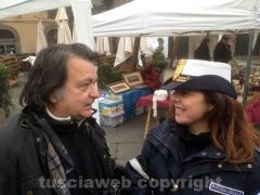 Gorgoni a Viterbo con i vigili urbani