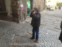 Gorgoni a Viterbo fotografa via Fattungheri