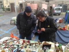 Gorgoni a Viterbo al mercatino