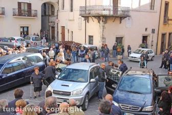 Orte - Il funerale del piccolo Diego Romagnoli
