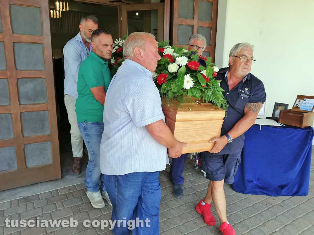 Il funerale di Luigi Matteucci