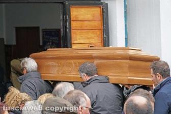 Il funerale di Sara Perlorca