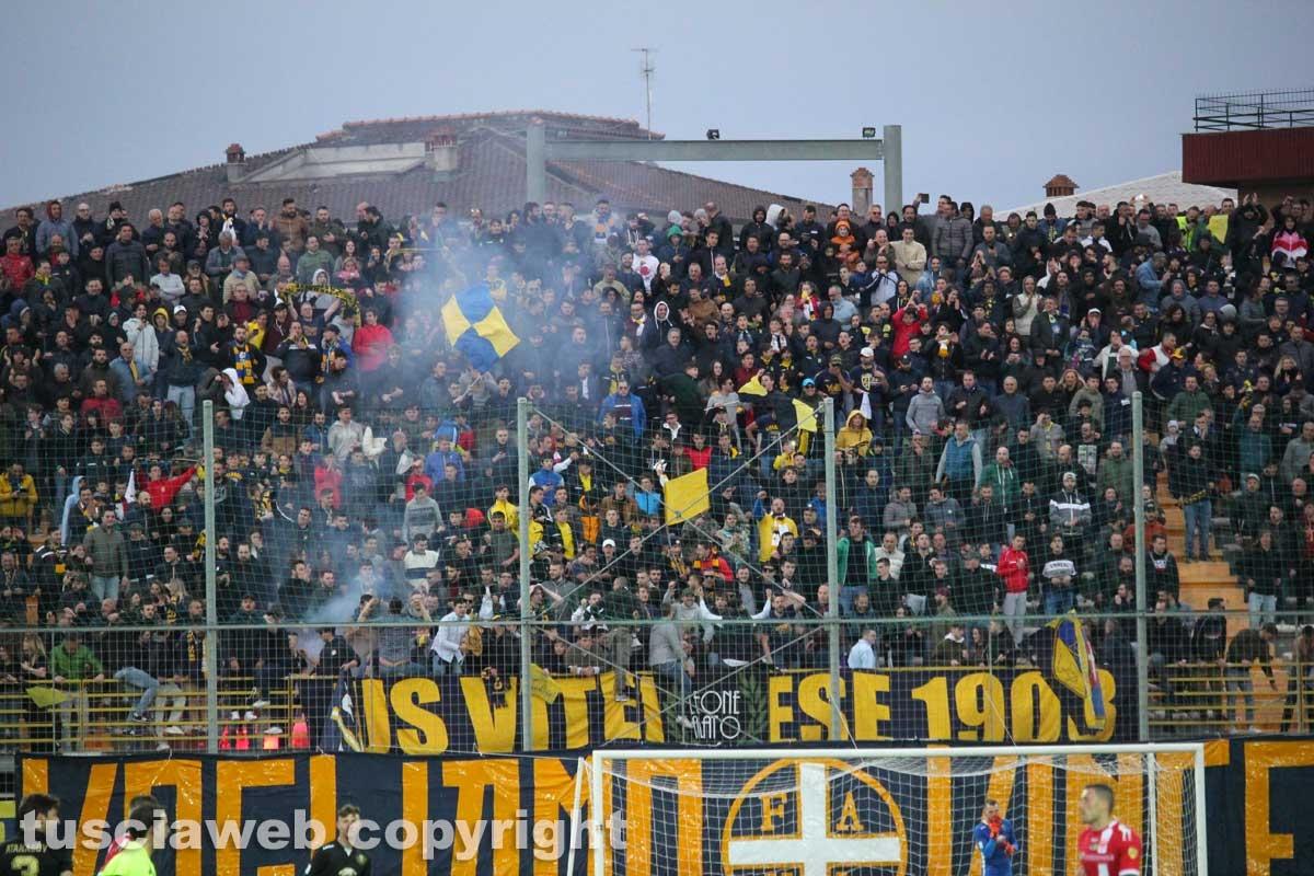 Sport - Calcio - La Viterbese vince la Coppa Italia - Il pubblico