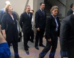 Arriva la ministra Cancellieri