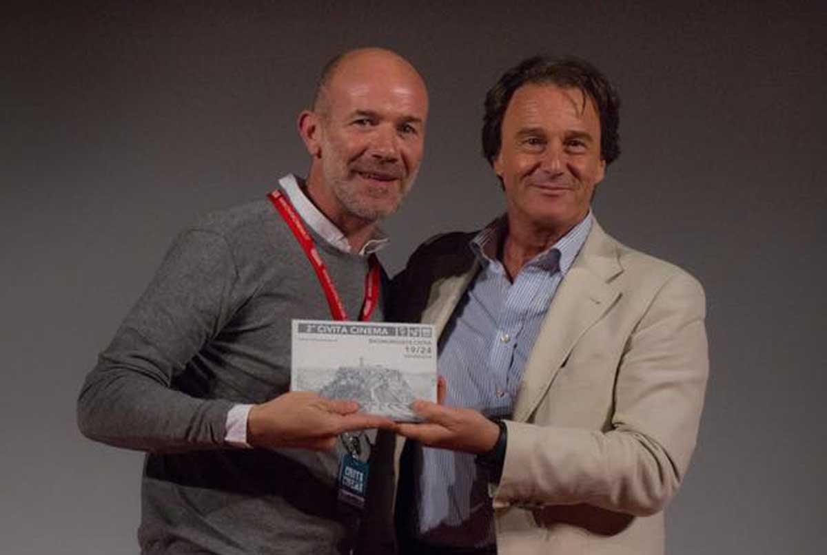 Genovesi con Bigiotti a Civita Cinema