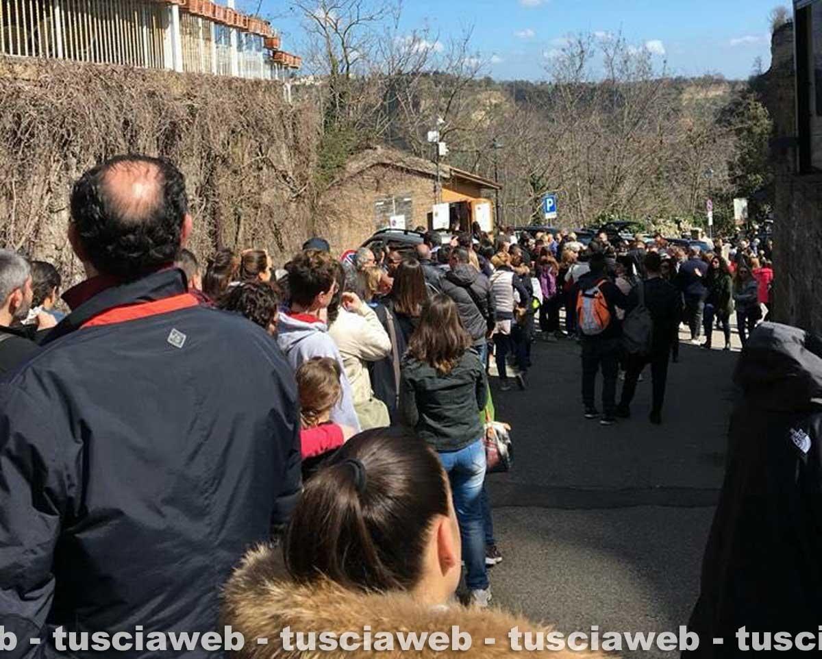 Weekend di Pasqua - 40mila visitatori a Civita di Bagnoregio
