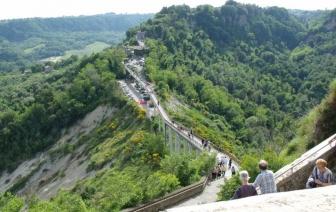 Bagnoregio - Il ponte di Civita