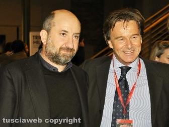 Italian Film Fest Berlin - Antonio Albanese con il sindaco Francesco Bigiotti