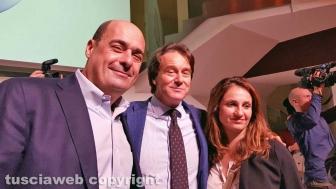 Roma - Francesco Bigiotti con il presidente Nicola Zingaretti