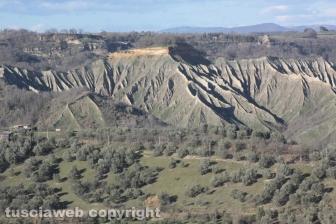 Civita di Bagnoregio - I calanchi