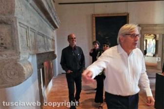 Sutri - Museo palazzo Doebbing - Vittorio Sgarbi