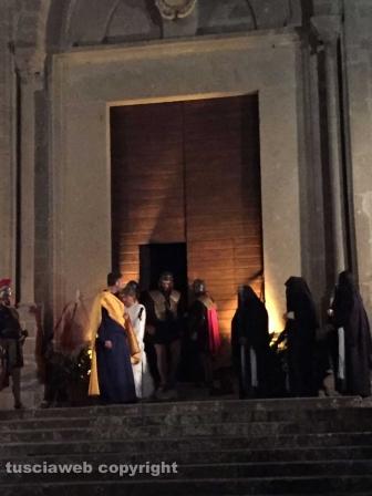 San Martino al Cimino - Il processo al Cristo