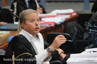 Viterbo - Il processo Cev - Il pm Franco Pacifici