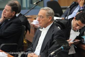 L\'avvocato di Ciucciarelli Carlo Taormina per lo studio Barili