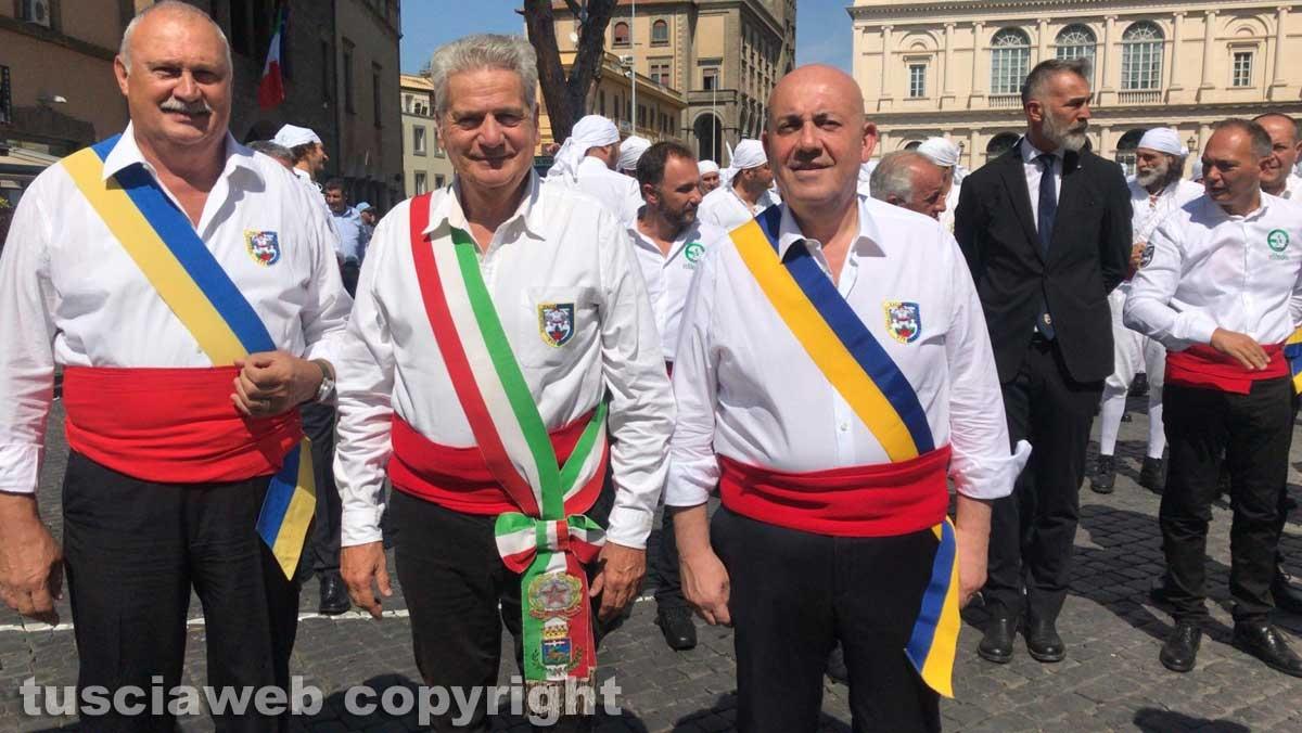Lorenzo Celestini, Giovanni Arena e Giovanni Bruno
