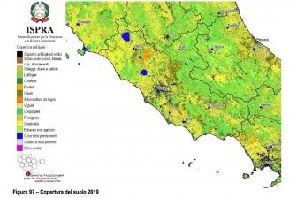 Rapporto Ispra-Snpa - Copertura del suolo 2019