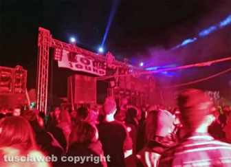Il rave party alla centrale di Montalto di Castro