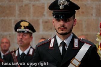 Il saluto dell'Arma a Daniele Gatti
