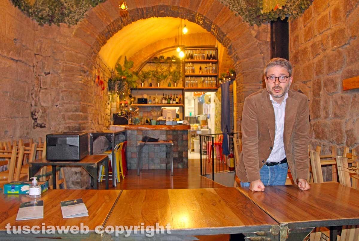 Viterbo - Massimiliano Amato del sushibar in via San Lorenzo