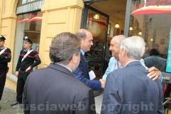 Zingaretti saluta Ugo Gigli