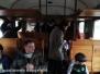 Il treno storico sfreccia per la città dei Papi