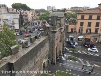 Porta Fiorentina vista dal museo