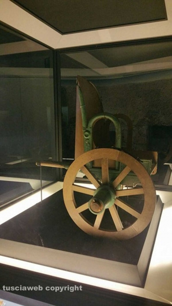 La famosa biga etrusca