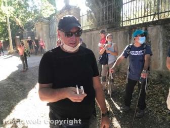 Cammino sulle Vie dell'esilio di Santa Rosa