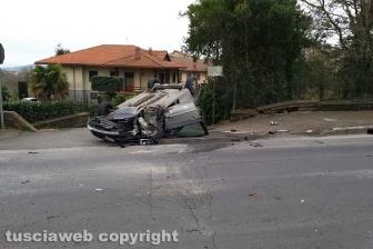 Montefiascone - L'incidente a Zepponami