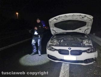 Viterbo - Incidente sulla superstrada