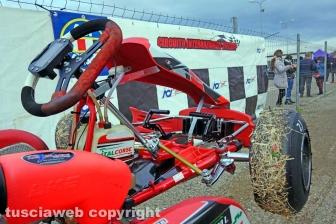 Karting, la vita ai box