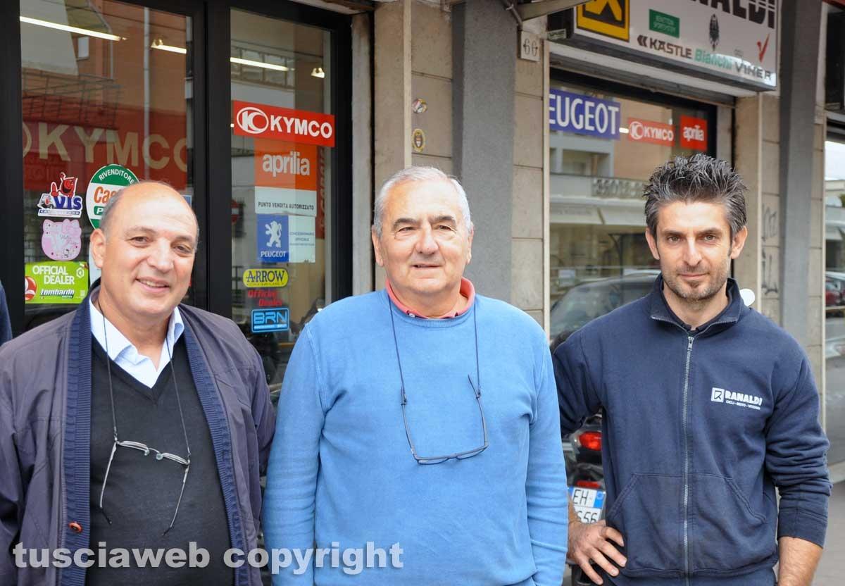 Viterbo - La bottega di biciclette Ranaldi - Lo staff