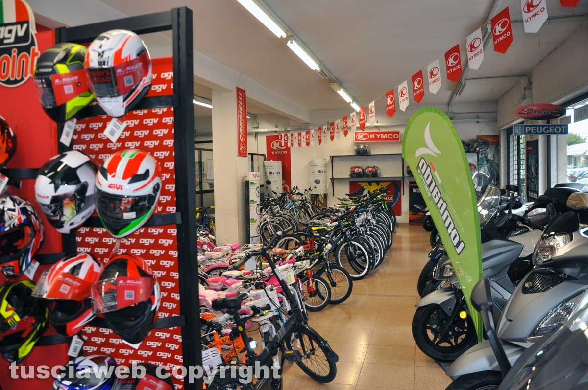 Viterbo - La bottega di biciclette Ranaldi