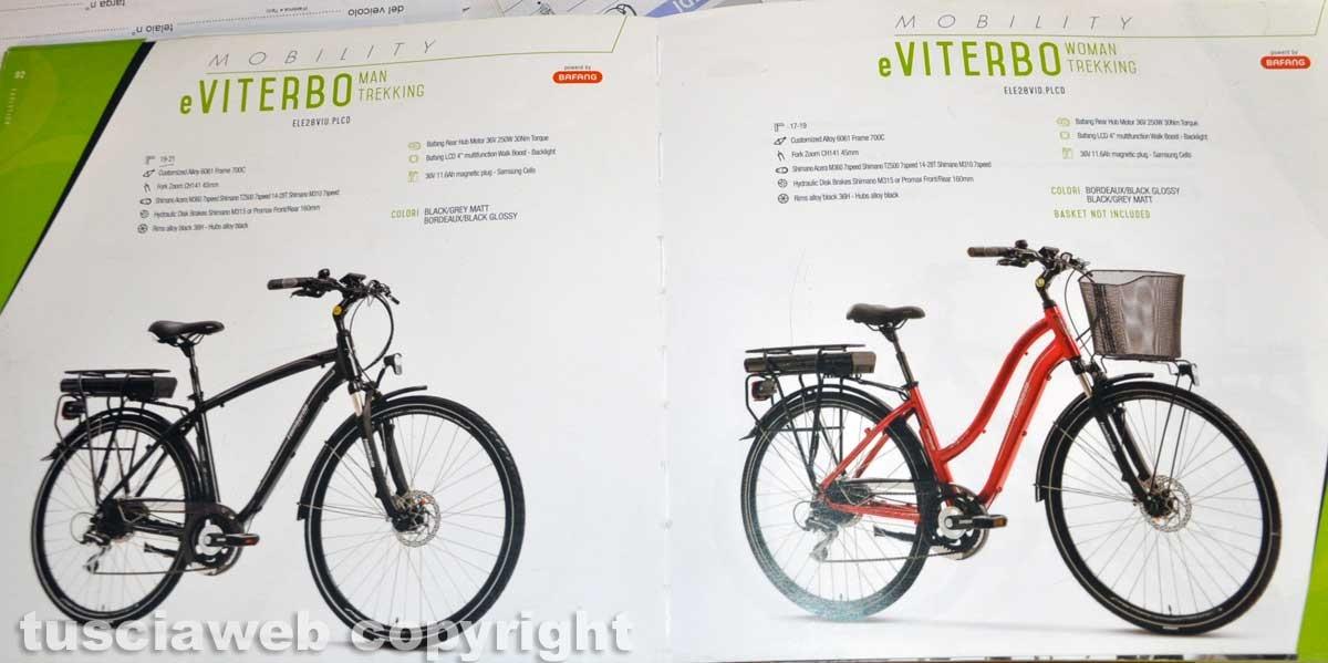 """Viterbo - La bottega di biciclette Ranaldi - La bici elettrica """"eViterbo"""""""