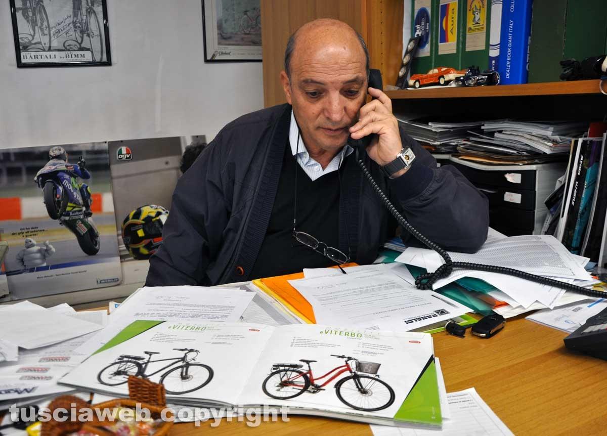 Viterbo - La bottega di biciclette Ranaldi - Silvio Ranaldi