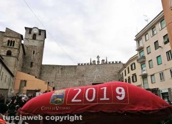 Viterbo. La calza più lunga del mondo 2019