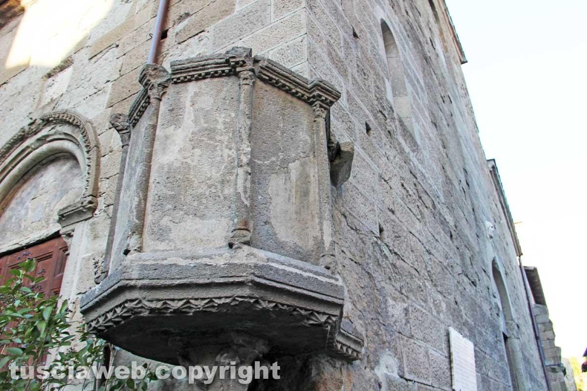 Viterbo - La chiesa di Santa Maria Nuova
