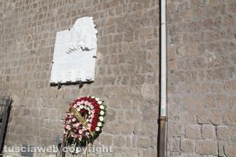 La cerimonia di ricordo delle vittime del bombardamento del 1944